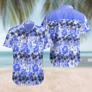 Rjc hawaiian Summer Short Sleeve Hawaiian Beach Shirt