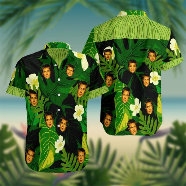 Brad Pitt Hawaiian Shirt