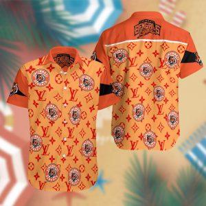 Cincinnati Bengals Summer Short Sleeve Hawaiian Beach Shirt