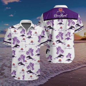 Crown Royal Hawaiian Shirt