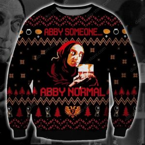 Abby Normal Ugly Christmas Sweater
