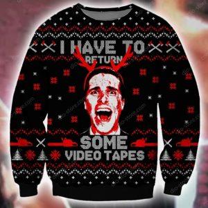 American Psycho Ugly Christmas Sweatshirt