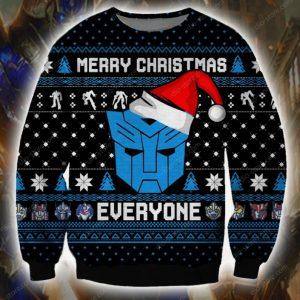 Autobot Ugly Christmas Sweatshirt