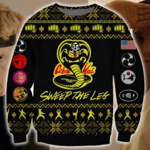 Cobra Kai Ugly Christmas Sweater