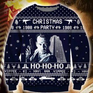 Die Hard Ugly Christmas Sweater