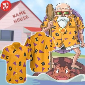 Master Roshi Hawaiian Shirt