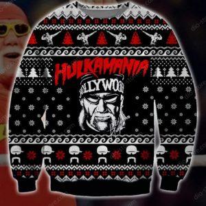 Hulkamania Ugly Christmas Sweater
