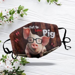 Smart Pig Over Printed Face Mask