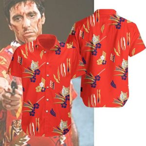 Tony Montana Hawaiian Shirt