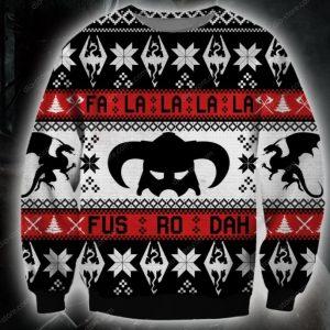 The Elder Scrolls Ugly Christmas Sweater