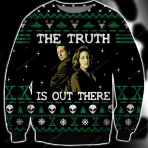 The Truth Is Out There Ugly Christmas Sweater