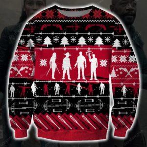 The Walking Dead Ugly Christmas Sweatshirt