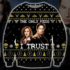 The X Files Ugly Christmas Sweatshirt