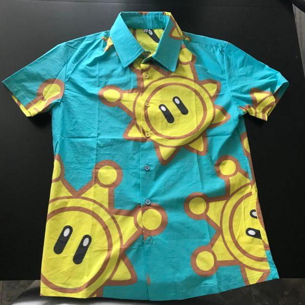 Mario Sunshine Hawaiian Shirt